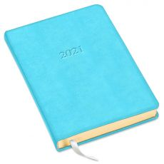 """Leather Desk Daily Planner - 8"""" x 5.5"""""""