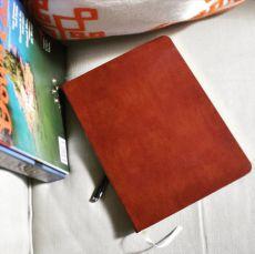 """Leather Desk Sketchbook - Blank - 8""""x5.5"""""""