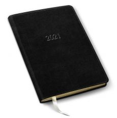 """Leather Desk Monthly Planner/Notebook - 8"""" x 5.5"""""""