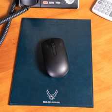 USAF Portrait Leather Mouse Pads